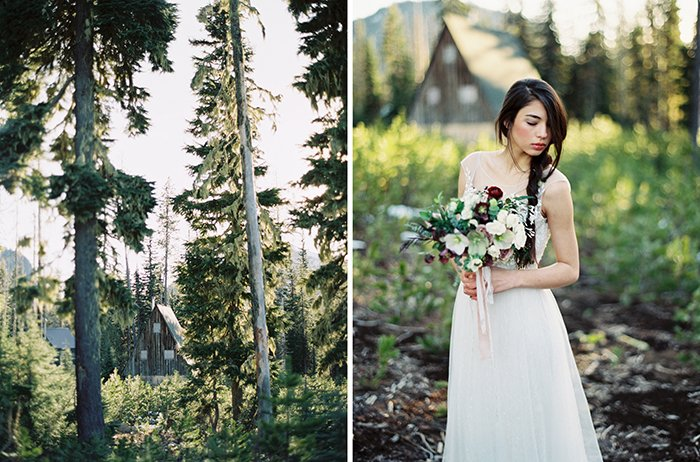 Forest Bridal Portraits Bend OR0005