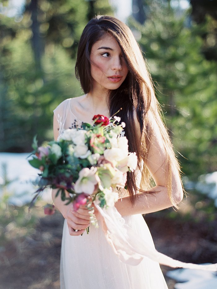 Forest Bridal Portraits Bend OR0012