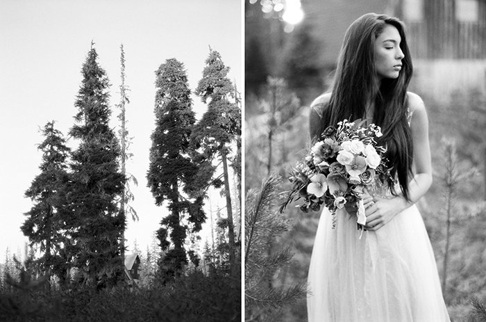 Forest Bridal Portraits Bend OR0013