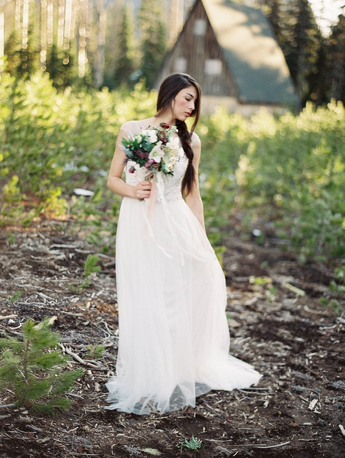 Forest Bridal Portraits Bend OR0021