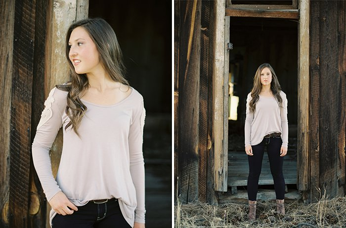 Sisters Oregon Senior Portraits0016