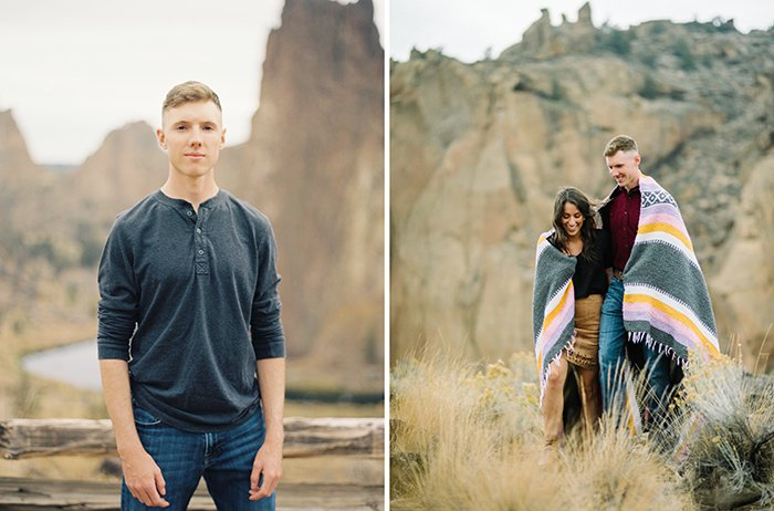 Engagement at Smith Rock 0005