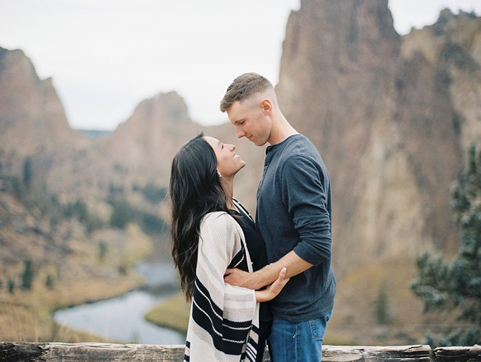Engagement at Smith Rock 0019