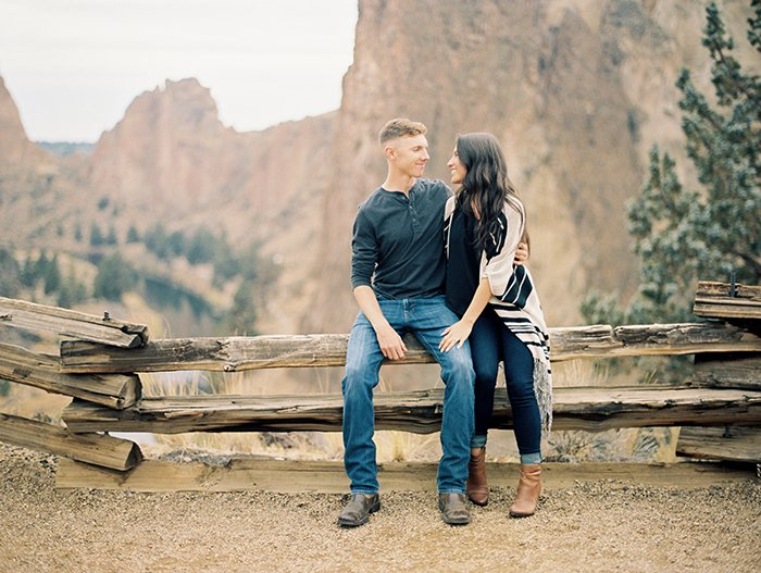 Engagement at Smith Rock 0020