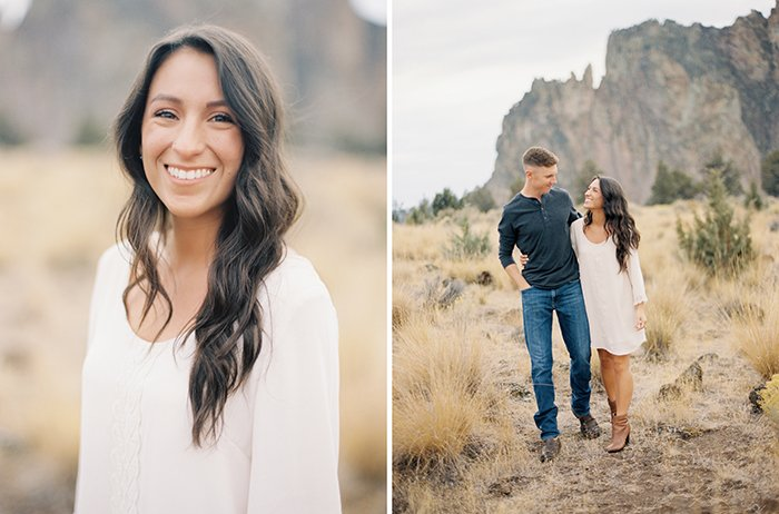 Engagement at Smith Rock 0021