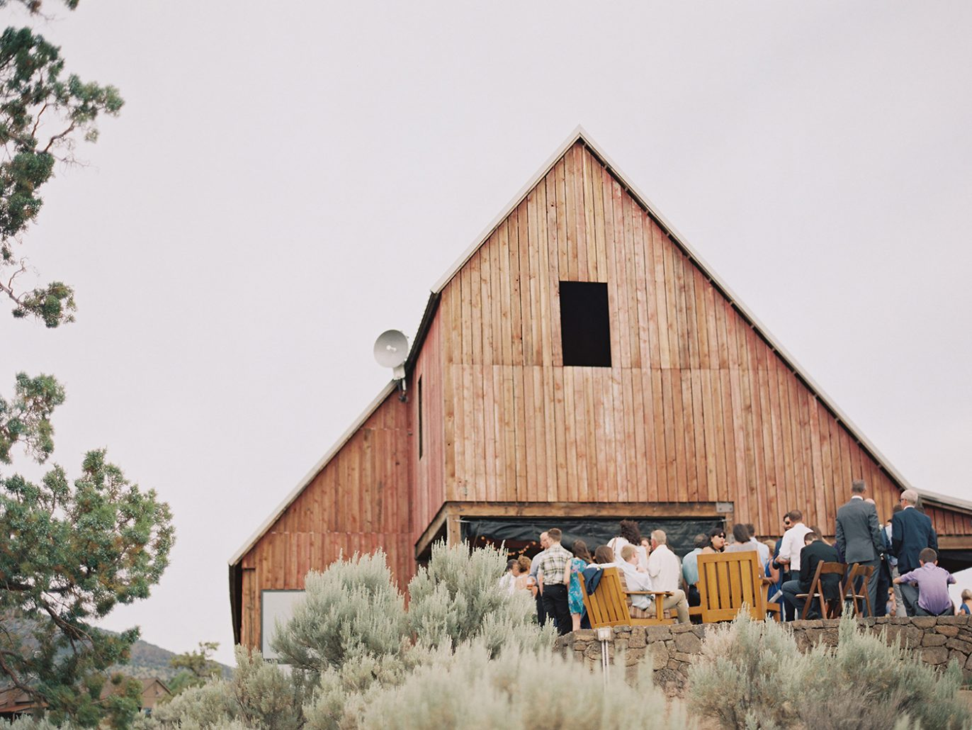 Wedding reception at Brasada Ranch