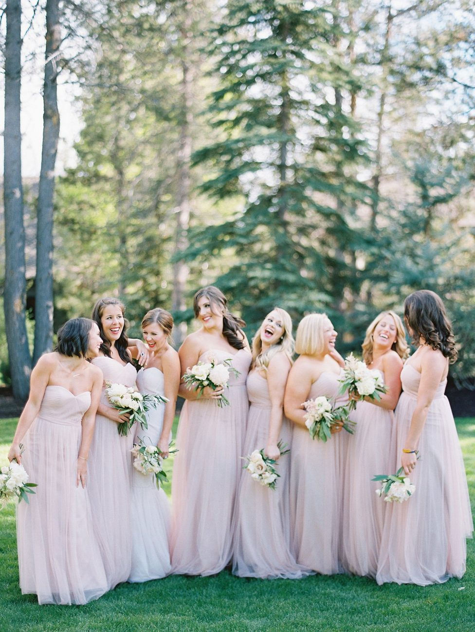 Bridesmaids at Sunriver Resort Wedding