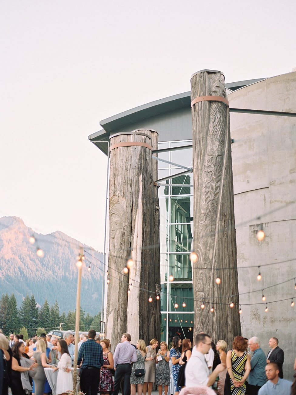 Wedding in Columbia River Gorge