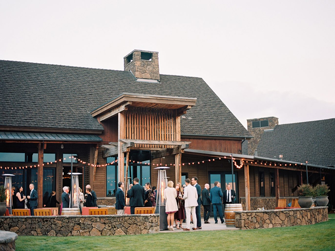 Wedding reception in Central Oregon