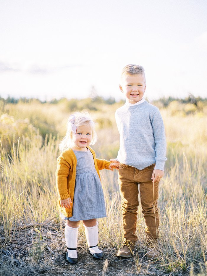 Family photography in Sunriver Oregon by Marina Koslow.
